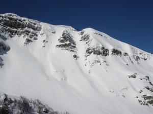Monte Giovo e canale del Triangolo