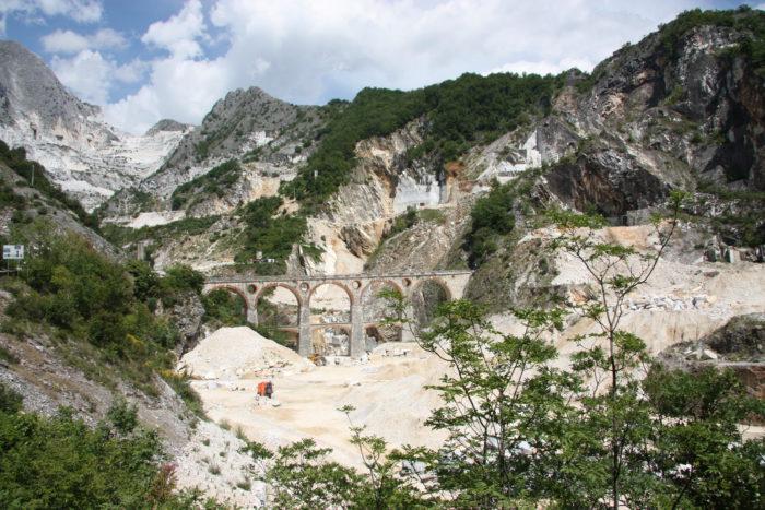 Uno dei ponti di Vara come appare oggi