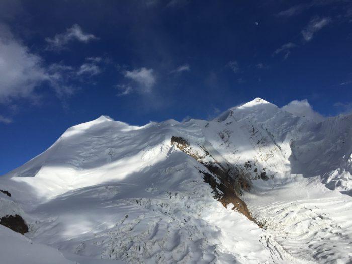 L'Himlung Himal sullo sfondo, foto di M. Buffetti