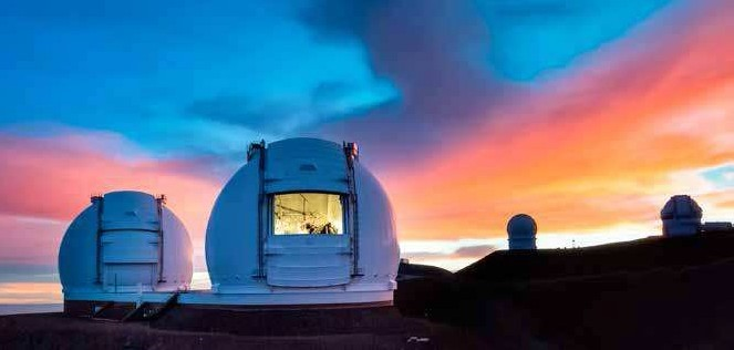 osservatorio Keck a Mauna Kea USA